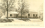 Click here to enlarge image and see more about item p15368: Edison Homestead  Greenfield Village MI Postcard p15368