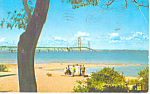 Mackinac Bridge,Macinaw,MI Postcard