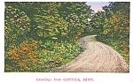 Click here to enlarge image and see more about item p1537: Gonvick MN Postcard