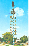 Click here to enlarge image and see more about item p15391: Maypole Frankenmuth MI Postcard p15391  1978