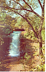 Click here to enlarge image and see more about item p15394: Beautiful Minnehaha Falls, MN Postcard