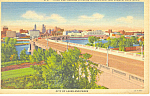Click here to enlarge image and see more about item p15408: Third Ave Bridge Minneapolis MN Postcard p15408