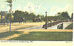 Click here to enlarge image and see more about item p15424: Gladstone Blvd Kansas City MO Postcard p15424  1907