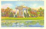 Click here to enlarge image and see more about item p15437: Forest Park St Louis MO Postcard p15437 1939