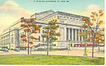 Click here to enlarge image and see more about item p15445: Municipal Auditorium St Louis  MO Postcard p15445 1943
