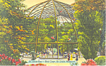 St Louis Zoo St Louis MO Postcard p15447 1943
