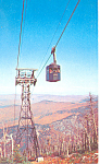 Click here to enlarge image and see more about item p15478: NH Aerial Tramway on Cannon Mountain Postcard p15478 1956