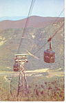 NH Aerial Tramway on Cannon Mountain Postcard p15479