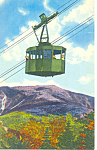 Click here to enlarge image and see more about item p15480: NH Aerial Tramway on Cannon Mountain Postcard p15480