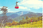 NH Aerial Tramway on Cannon Mountain Postcard