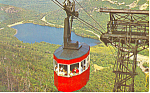 NH Aerial Tramway on Cannon Mountain Postcard p15484