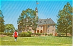 Williamsburg VA Colonial Capitol Postcard p1548
