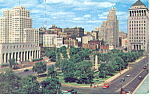 Click here to enlarge image and see more about item p15497: View of Downtown St Louis MO Postcard