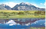 Click here to enlarge image and see more about item p15500: Emigrant Peak Montana Postcard