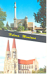 Civic Center, Helena, Montana Postcard