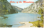 Gates of the Mountains Helena Montana Postcard p15505