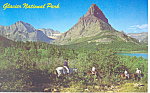 Click here to enlarge image and see more about item p15508: Glacier National Park Montana Postcard p15508