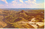 Badlands Eastern  Montana Postcard