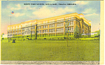 Click here to enlarge image and see more about item p15524: North High School, Omaha, NE Postcard 1945