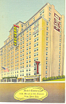 Hotel Century New York City NY Postcard p15533 1943