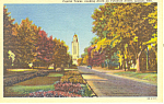Lincoln,NE, Capitol Tower Postcard