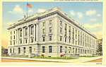 Click here to enlarge image and see more about item p15539a: Lincoln,NE, US Court House Postcard