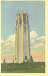 Omaha,NE, Singing Tower Postcard