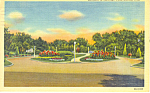 Click here to enlarge image and see more about item p15545: Lincoln,NE, Entrance Antelope Park Postcard 1959