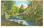 Click here to enlarge image and see more about item p15549: Chadron NE Deadhorse Scenery Postcard p15549