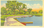 Omaha, NE, Carter Lake Postcard 1945