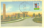 Boys Town, NE, Administration Bldg Postcard 1951