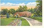 Omaha, NE, Hanscom Park Postcard 1946
