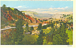Click here to enlarge image and see more about item p15560: Scenic Highway,Scotts Bluff  NE, Postcard