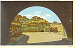 Click here to enlarge image and see more about item p15563: Tunnel on Summit Drive,Scotts Bluff  NE, Postcard