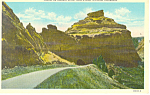 Tunnel on Summit Drive,Scotts Bluff  NE, Postcard