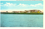 Click here to enlarge image and see more about item p15566: North Platte River,Scotts Bluff  NE, Postcard