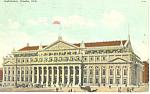 Auditorium, Omaha , NE, Postcard 1909