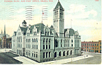 Federal Building, Omaha , NE, Postcard 1907