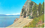 Click here to enlarge image and see more about item p15579: Cave Rock, Lake Tahoe, NV Postcard