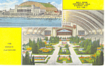 Click here to enlarge image and see more about item p15598: Convention Hall Atlantic City, NJ Postcard 1951