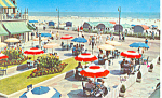 Click here to enlarge image and see more about item p15603: Dennis Hotel and Boardwalk Atlantic City, NJ Postcard
