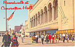 Click here to enlarge image and see more about item p15610: Boardwalk Atlantic City, NJ Postcard ca 1963