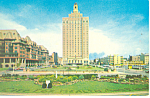 Brighton Park  Atlantic City, NJ Postcard ca 1960s