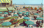 Dennis Hotel and Boardwalk Atlantic City NJ Postcard p15621
