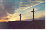 Click here to enlarge image and see more about item p15647: City of Crosses Las Cruces NM  Postcard p15647