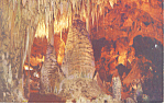 Temple of the Sun Carlsbad Caverns NM  Postcard p15652
