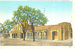 Post Office,Santa Fe , NM  Postcard 1928