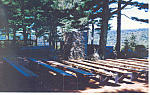 Click here to enlarge image and see more about item p15722: Pulpit,Cathedral of the Pines ,Rindge,NH Postcard