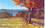 Roberts Cove,Lake Winnipesaukee,NH Postcard 1967