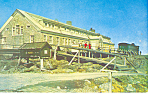 Mt Washington NH Summit House Hotel Postcard p15744
